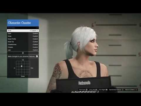 Gta 5 online ps4 xbox one new character creation menu all re upload cute female character creation tutorial gta v online voltagebd