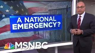What Does Declaring A National Emergency Mean? | Velshi & Ruhle | MSNBC