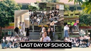 LAST DAY OF HIGHSCHOOL!!! #Vlog I SHIREEENZ