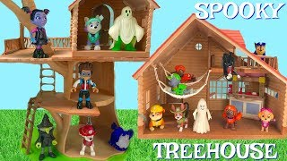 Paw Patrol Spooky Halloween Treehouse Cabin Treasure Hunt