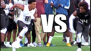 2017 The Opening Finals | WR vs DB 1 on 1's 🔥🔥