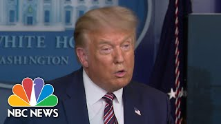Trump: 'We Will Be Terminating The Payroll Tax After I Hopefully Get Elected' | NBC News NOW