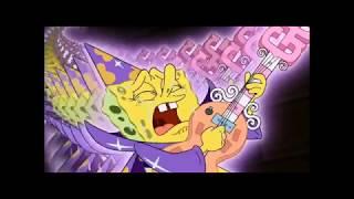 Emo band members portrayed by spongebob