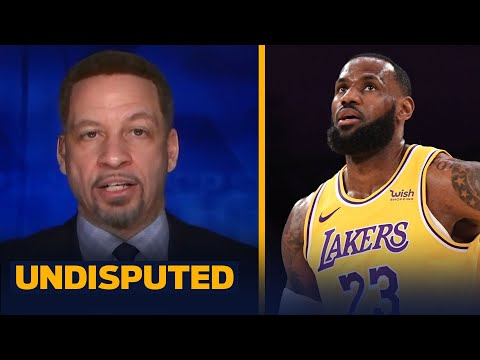Chris Broussard weighs in on LeBron, Lakers struggles with AD sidelined | NBA | UNDISPUTED