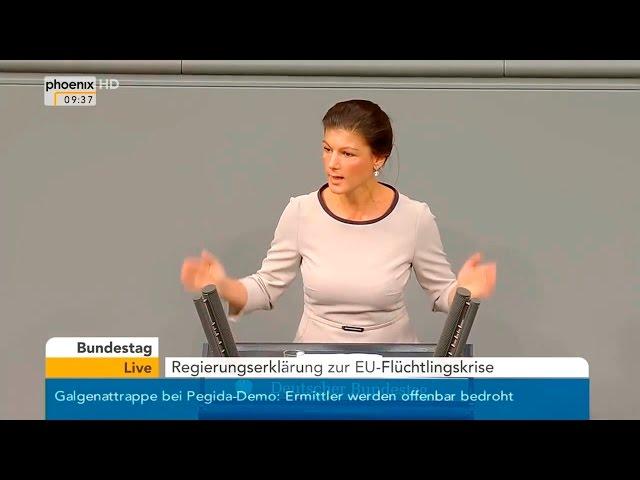 Сара Вагенкнехт: Мне страшно за будущее Германии