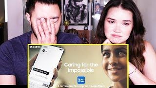 SAMSUNG INDIA GOOD VIBES APP: CARING FOR THE IMPOSSIBLE | Reaction by Jaby & Achara!