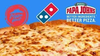 Blind Pizza Taste Test Of Major Chains