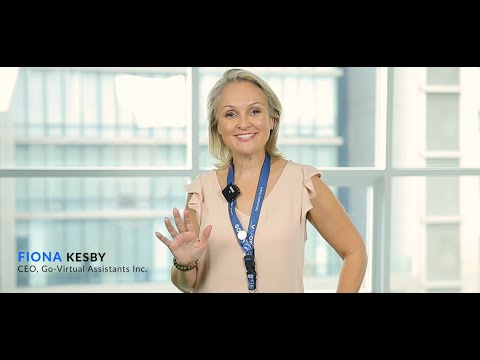 Chief Executive Officer Of GO Virtual Assistants (GO-VA) - Fiona's Greeting Video