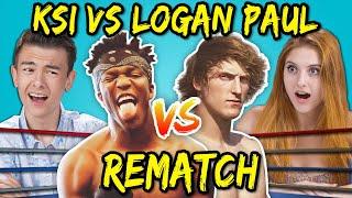 Teens React To Logan Paul Vs. KSI Rematch