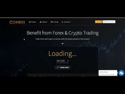 How to create Coinexx Secure Client Area Login