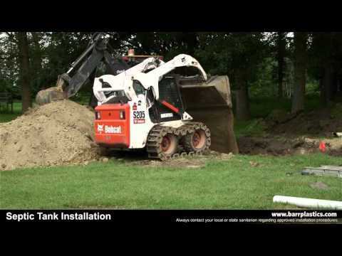 BARR Septic Tank Installation Guide