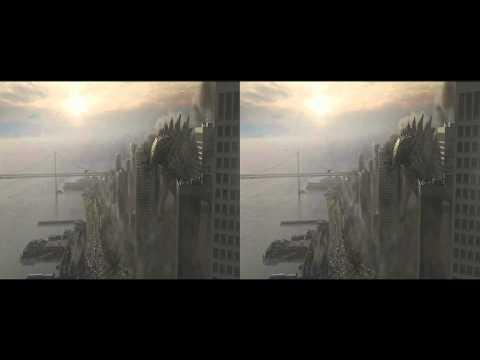 Godzilla 3d Teaser in 3d
