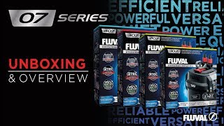 *NEW* Fluval 07 Canister Filter Series | Unboxing & Overview