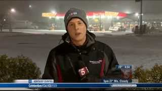 March 5, 2015 Snow Coverage (WTVF Nashville)