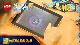 GAME LEGO NEXO KNIGHTS MERLOK 2.0 | THU THẬP KHIÊN NĂNG LƯỢNG CẤM