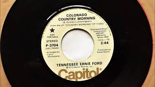 Colorado Country Morning , Tennessee Ernie Ford , 1973