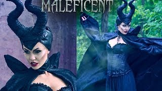 Maleficent Make Up Tutorial - Charakteryzacja na Diabolinę
