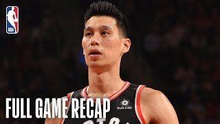KNICKS vs RAPTORS | Jeremy Lin Goes For 13 Points In The 4th Quarter | March 18, 2019