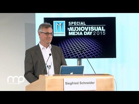 Rede: Grußwort von BLM-Präsident Siegfried Schneider zum AVMD15