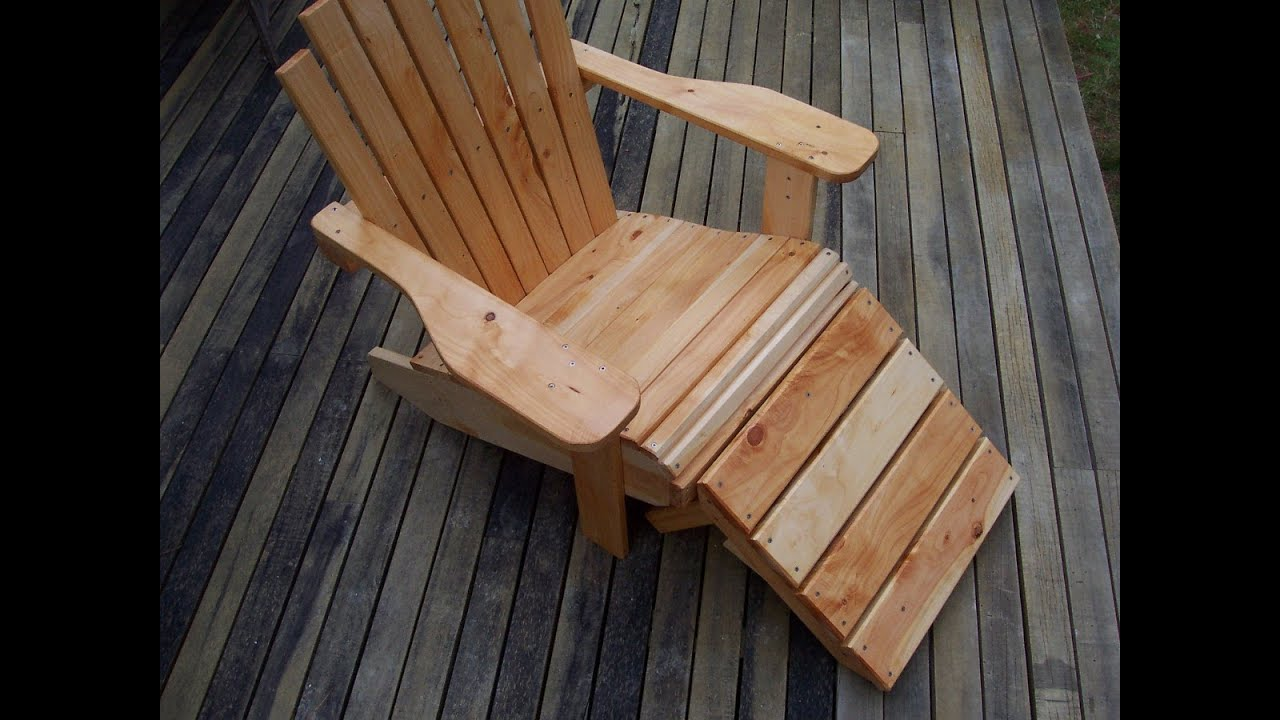 how to build a cape cod   adirondack chair youtube How to Build a Love Seat How to Build a Laundry Basket