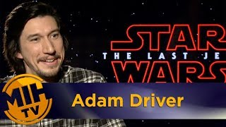 Adam Driver Star Wars: The Last Jedi Interview