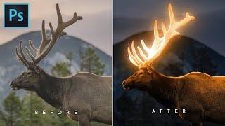 Glow Effect - Photoshop Tutorial   Glowing Effect