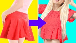 51 AWESOME CLOTHING DIYs AND OUTFIT LIFE HACKS
