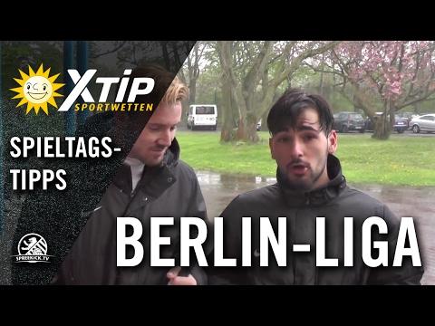 XTiP Spieltagstipp mit Fabio Engelhardt und Yusuf Cebeci (beide DJK Schwarz Weiss Neukölln) - 27. Spieltag, Berlin-Liga | SPREEKICK.TV