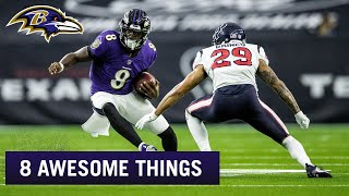 8 Things That Made the Win at Houston Awesome | Baltimore Ravens