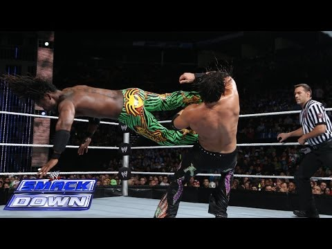 Kofi Kingston Vs. Fandango: SmackDown, Dec. 20, 2013 - Smashpipe Sports