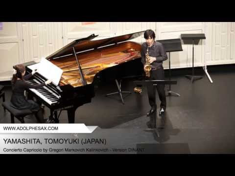 YAMASHITA Tomoyuki (Concierto Capriccio by Gregori Markovich Kalinkovich - Version DINANT)