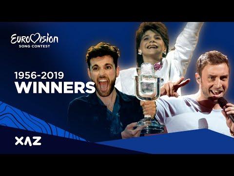 Eurovision: All Winners 1956-2019