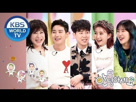 Guests : Noh Sayeon, P.O, B-Bomb, Jooe, Hyebin [Hello Counselor/ENG, THA/2019.03.25]