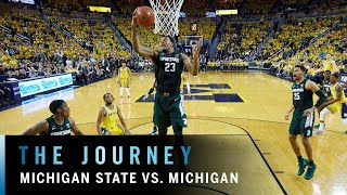 Cinematic Highlights: Winston Leads Michigan State Past Michigan |  B1G Basketball | The Journey