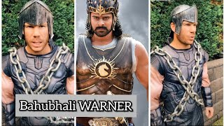 David Warner lip-syncs popular 'Baahubali' dialogue..