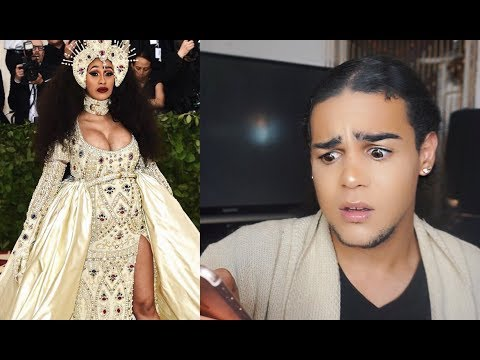 REACTING TO MET GALA LOOKS 2018 ! WHAT ARE THEY WEARING !?