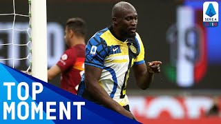Lukaku scores 3rd for Inter at the 90'! | Inter 3-1 Roma | Top Moment | Serie A TIM