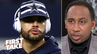Dak Prescott doesn't deserve the money that he's asking for – Stephen A.   First Take