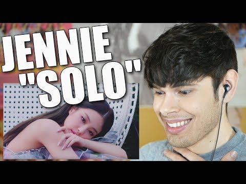 Reacting to JENNIE's SOLO DEBUT