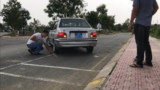 HLXKK - MẸO GHÉP XE NGANG VÀO NƠI ĐỖ (parallel parking)