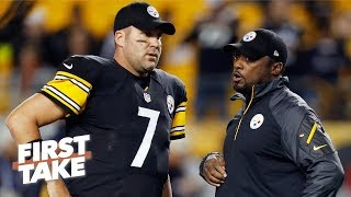 Is Ben Roethlisberger getting a pass from Mike Tomlin for his Steelers' leadership? | First Take