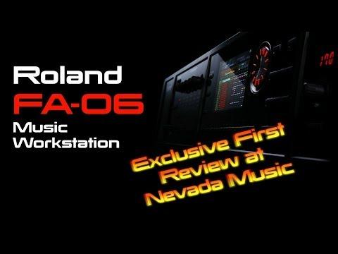 NEW! Roland FA-06 Workstation Full Demo at Nevada Music UK