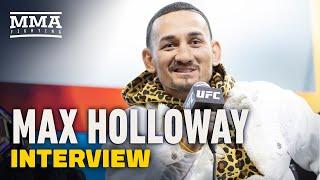 Max Holloway On Volkanovski vs. Ortega: 'I'm the Cloud Hanging Over That Fight' - MMA Fighting