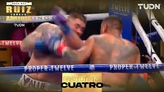 4TO ROUND: ¡CON TODO! Andy Ruiz y Chris Arreola tiran metralla I Andy Ruiz vs Chris Arreola I TUDN