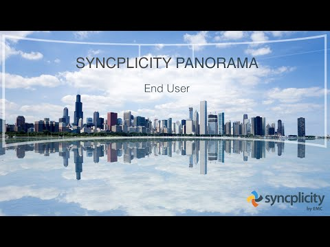 Syncplicity Panorama - User