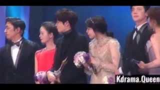 Park Min Young & Ji Chang Wook KBS Drama Awards Kamera Arkası [Behind Scene]