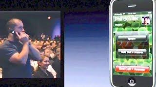 Steve Jobs first iPhone call to Jony Ive 2007