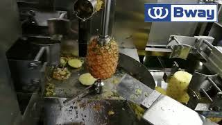 Automatical Pineapple peeling and coring machine pineapple peeler and corer machine
