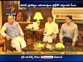 CM Chandrababu's second day Delhi tour, meets Arun Jaitley..