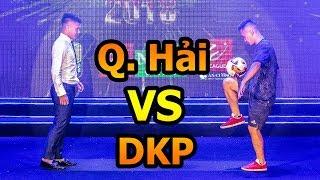 Thử Thách Bóng Đá với Quang Hải U23 Việt Nam so tài Đỗ Kim Phúc Mùa Asian Cup 2019